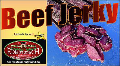1200 Gramm Biltong Beef Jerky Eigene Herstellung 4 Sorten  am Stück/Stix