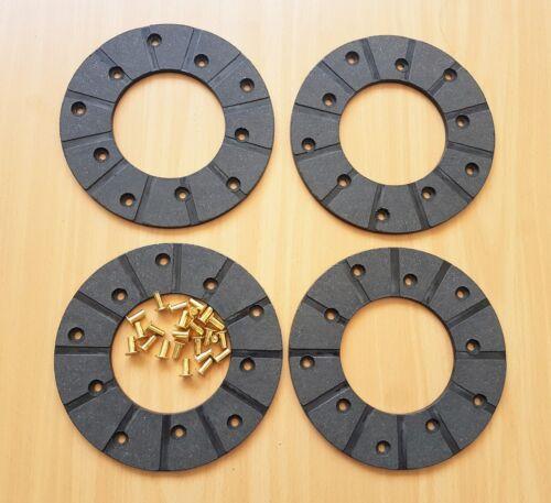 Intrac 2002 04349301 Bremsbelag Ringbelag 228mm 24NL Deutz DX 140 145