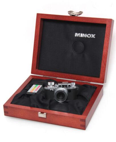 Minox Classic CAMERA Leica III f 60 500 miniatura cámaraartículo de colección