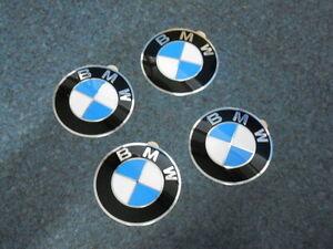 ORIGINAL BMW 1er E81 E82 E87 E88  EMBLEM  PLAKETTE geprägt für Felge STAHL + ALU
