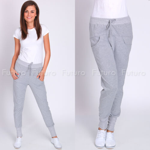 Ladies Sport Tapered Trousers With Pockets New Active Pants Sizes 8-14 FT1860