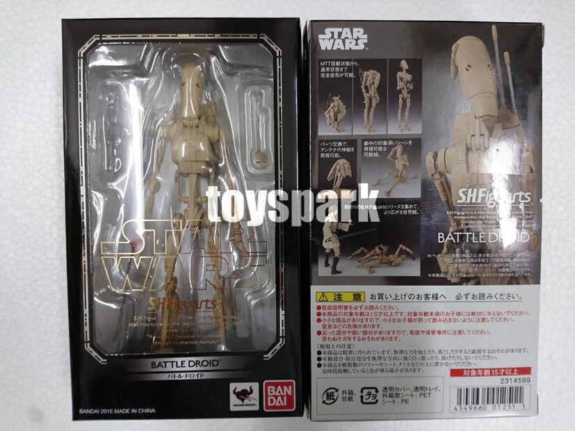 los clientes primero S.H. Figuarts ataque de los Clones De Estrella Wars Wars Wars Battle Droid Figura de Acción Japón ver  el mas reciente