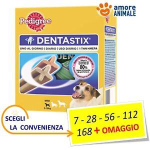 Pedigree Dentastix Small (tg. piccola) - Stick 7 / 28 / 56 / 112 / 168 + OMAGGIO