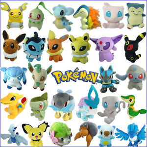 Pokemon-Plush-Character-Soft-Toy-Stuffed-Animal-Nintendo-Collectible-Figure-Doll