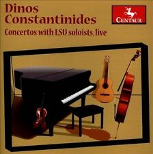 Dinos Constantinides-Concertos With Lsu Soloists, L CD NEW