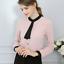 thumbnail 6 - Fashion-Women-OL-Work-Formal-Shirt-Ladies-Long-Sleeve-Office-Uniform-Top-Blouses