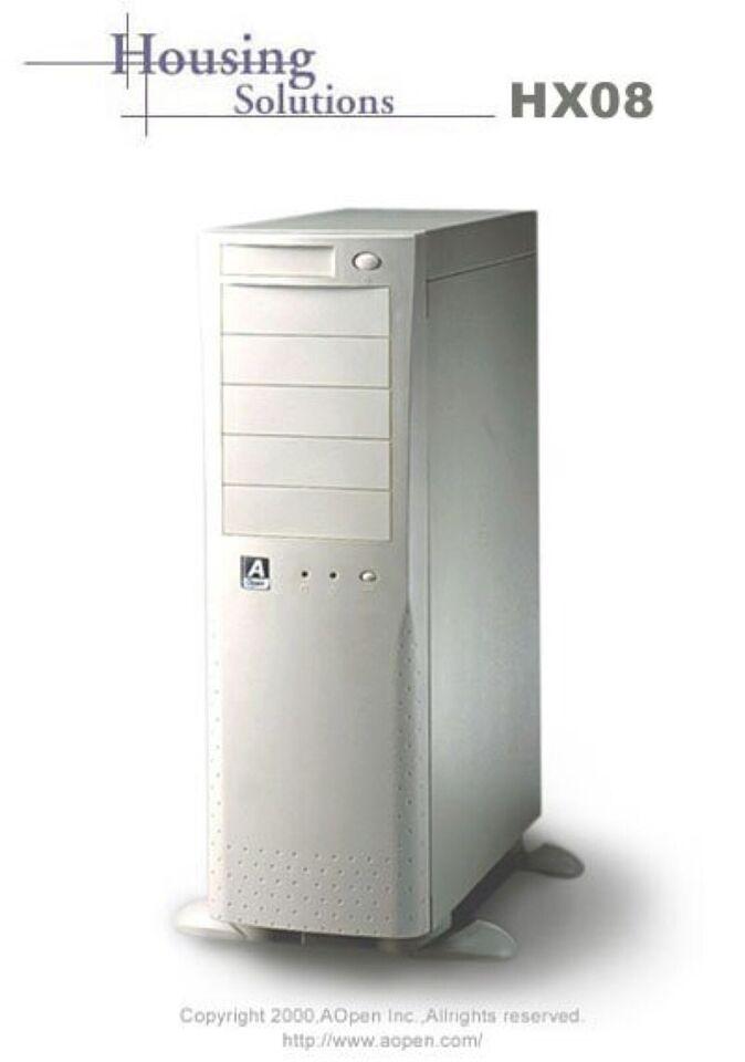 Aopen HX08 eller HX45 kabinet købes.  Pris afhæ...