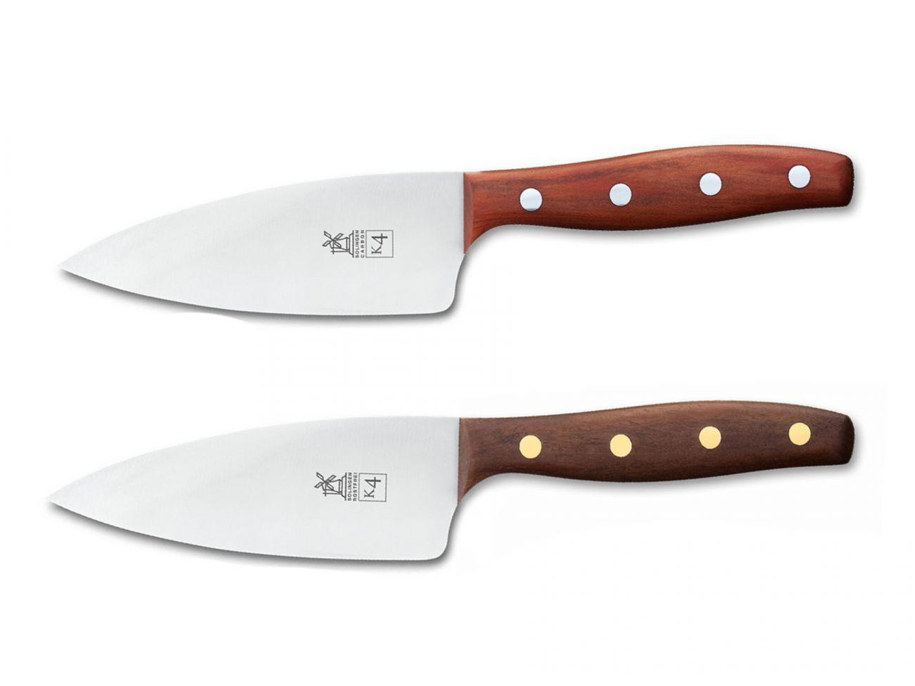 Les moulins à vent Couteau Acier k4 couteau 13 Cm Prune Noyer Robert Herder