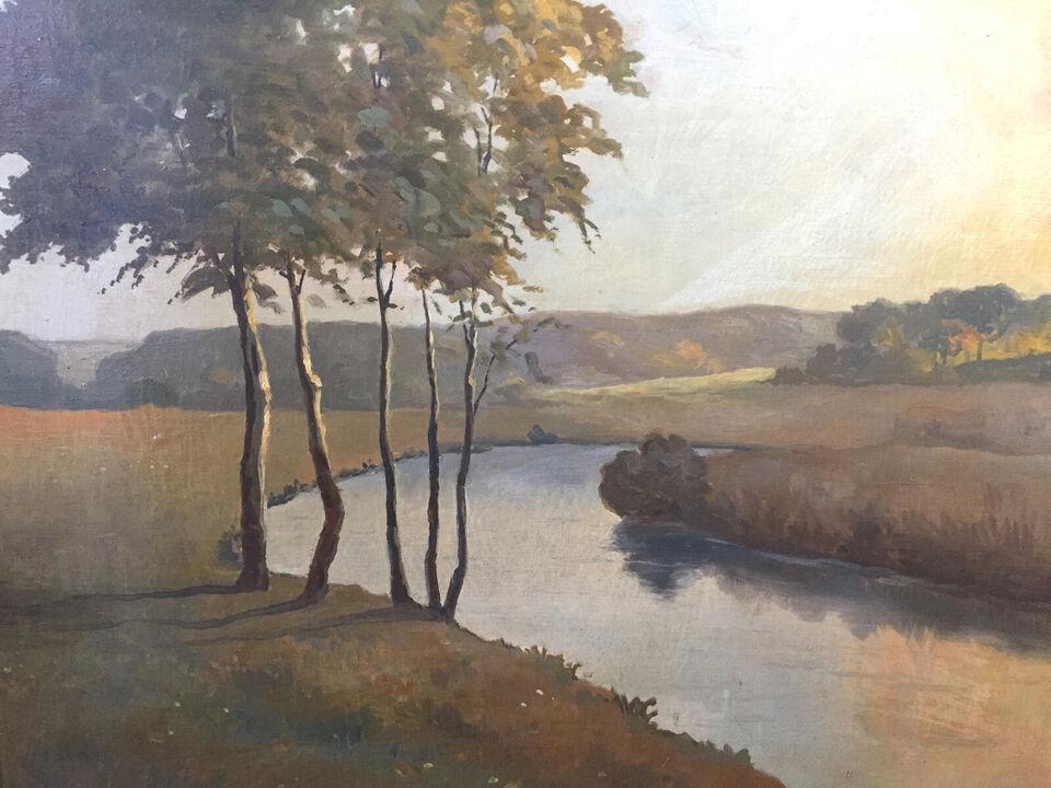 Vilhelm Carlsen maleri