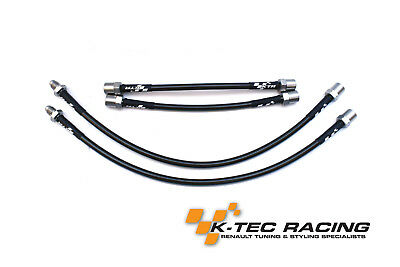 K-TEC RACING CLIO 2 RS 172//182 Braided Brake Lines