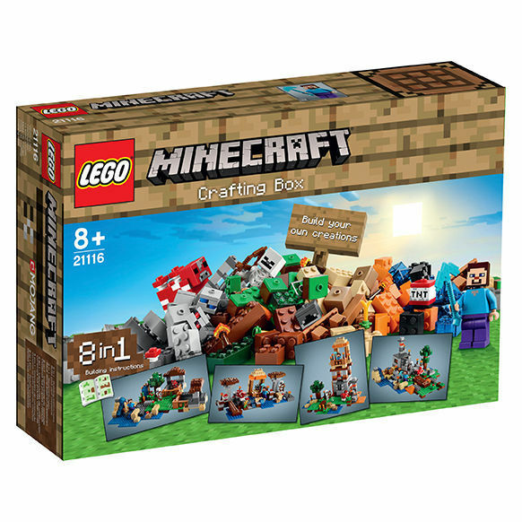 LEGO ® 21116 21116 21116 Minecraft™ Crafting Box NEU OVP New Original bf54b4