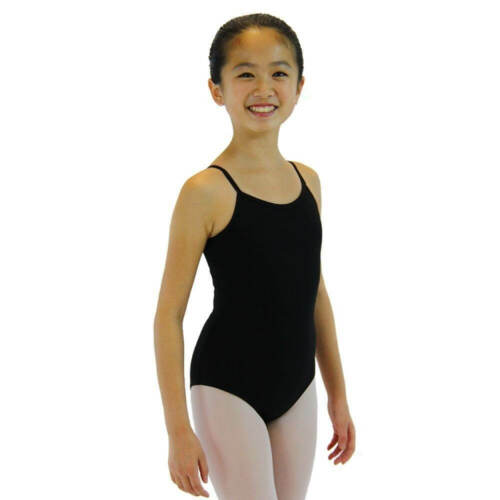 Danzcue Child Ballet Cotton Camisole Leotard