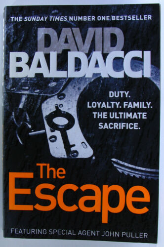 1 of 1 - #JK10, David Baldacci THE ESCAPE, SC VGC
