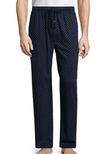"Stafford Men/'s Knit Pajama Lounge Sleep Pants 100/% Cotton Navy Size 2XL 44-47/"""