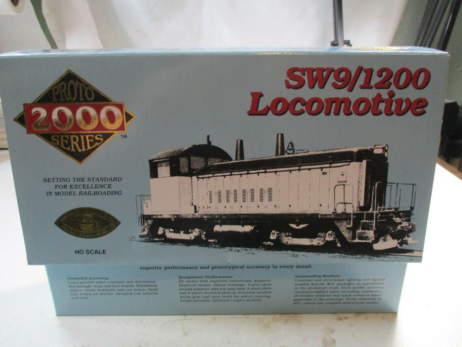 PROTO 2000 NEW YORK CENTRAL  SW9/1200 DIESEL LOCOMOTIVE H.O. NEW IN BOX