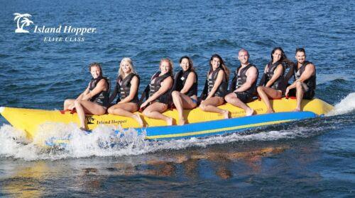 NEW Island Hopper PVC-8-INLINE Banana Boat 21/' Elite 8 Passenger Water Sled