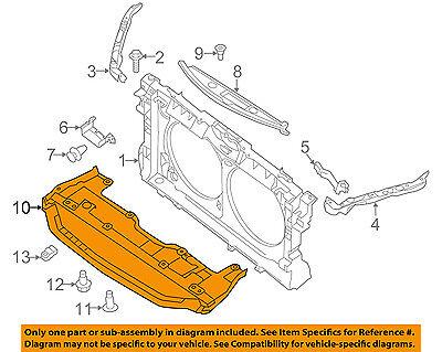 New Replacement CPP Engine Splash Shield for 15-17 Hyundai Sonata Nissan Sentra OEM Quality