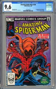 AMAZING SPIDER-MAN #238 - CGC 9.6 - White NM+ First ...