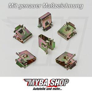 METALL HALTERUNG KLAMMERN KLEMME FÜR BMW 1437194187 54218195800 CLIPS KLIPS