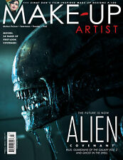 MAKE-UP ARTIST #126 Character Cover ALIEN: COVENANT Ghost in the Shell IMATS New