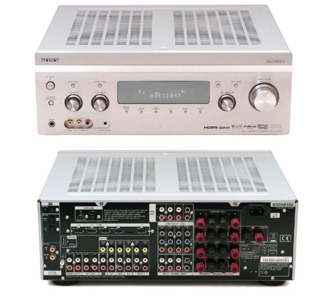 sony str-da2400es 7.1 speaker set