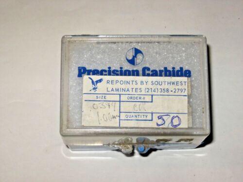 .0394 CIRCUIT BOARD CARBIDE DRILL BITS Re-sharpened 1.00 mm