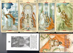 Tarot-des-heiligen-Gral-rar-selten-Sammler-NEU-OVP