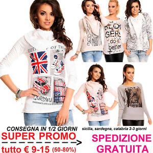 Maglia-da-Donna-T-Shirt-a-Maniche-Lunghe-Blusa-Maglietta-per-Fashion-alla-Moda