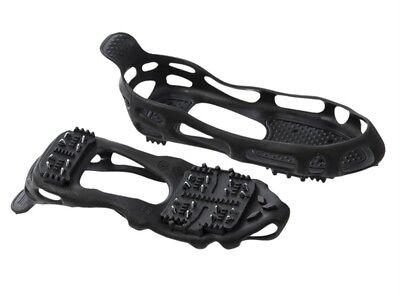 BOOT SPIKES OVERSHOE Eis Winter Anti Slip Stollen Schuh Boots Gr 40-43.5