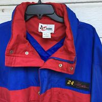 Mens Chase Authentics Racing Jacket Xlarge Hongkong Jeff Gordon 24 Blue Red