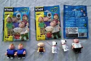 K-039-nex-Family-Guy-6-Figures-includes-Stewie-Peter-2-of-Brian-amp-2-of-Chris