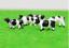 Packs of 5 or 10 00 1:76 1:87 Scale HO Gauge Model Railway Painted Cows