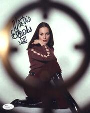"(SSG) MARTINE BESWICK Signed 8X10 ""James Bond"" Photo - JSA (James Spence) COA"