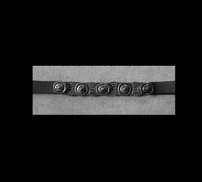 1a Oggetti Da Qualità Cintura In Pelle Nuovo Medio Evo In Pelle Donna Cintura Cintura Rartät #-t Ledergürtel Neu Mittelalter Leder Damengürtel GÜrtel Rartät # It-it