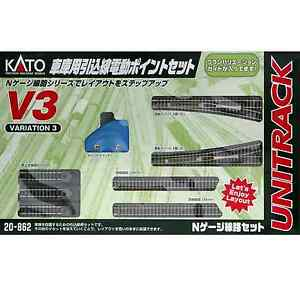 Kato-20-862-Unitrack-V3-Voies-de-Garage-Rail-Yard-Switching-Track-Set-N