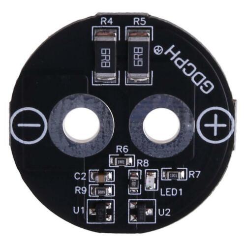 35mm 2.7V 500F Super Farad Capacitor Balance Board Round Protection Module