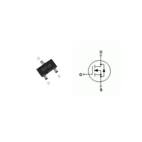 2,5v 5 x irlml 6344 LOGIC LEVEL Power MOSFET N-Channel 30v 5a 29 Mohm sot23