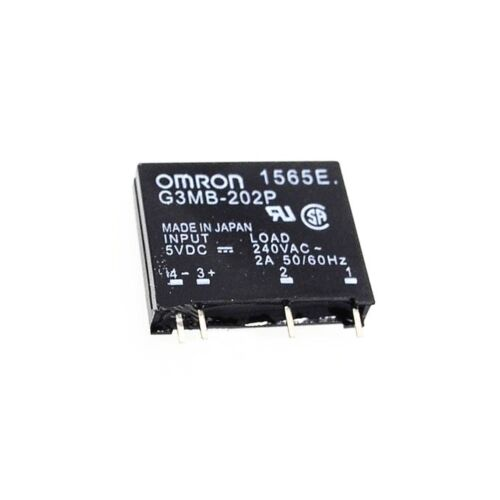 5PCS G3MB-202P DC-AC PCB SSR In 5V DC Out 240V AC 2A Solid State Relay Module