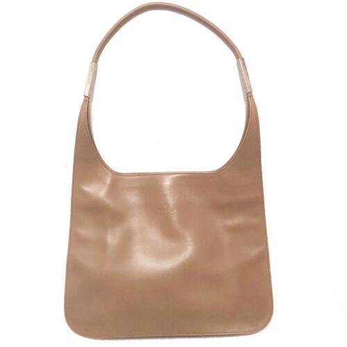 Vintage Gucci Mocca Leather Streamlined Jackie Bag
