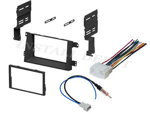 s l300 ☆ honda ridgeline stereo radio install mounting kit & wiring  at nearapp.co