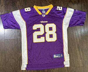 Details about MINNESOTA VIKINGS NFL Football JERSEY Youth Sz Large Adrian Peterson #28 Reebok