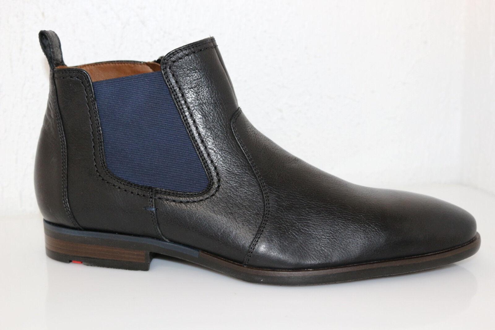 Lloyd Dylan Messieurs bottes bottes cuir noir Taille au choix  NOUVEAU
