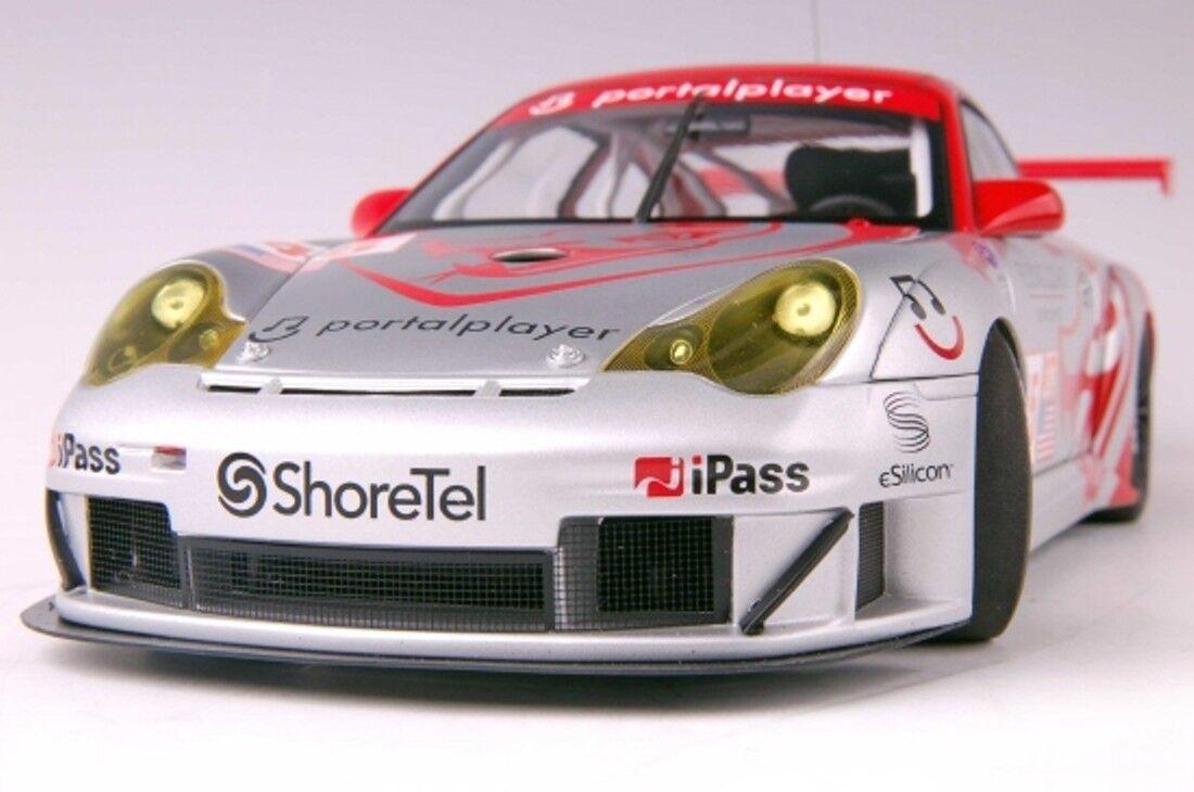PORSCHE 911  996  GT3 RSR  45 ALMS GT2 2006 FLYING LIZARD AUTOART 80673 1/18