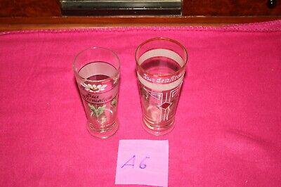 (a6) 2 Trinkgläser,emailliert