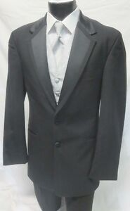 cbe308f84fb Boys Size 14 Perry Ellis Tropical Wool Tuxedo Jacket Discount Kids ...