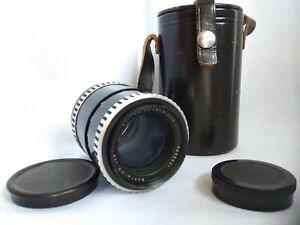 Lens-CARL-ZEISS-JENA-DDR-M42-MC-SONNAR-electric-3-5-135