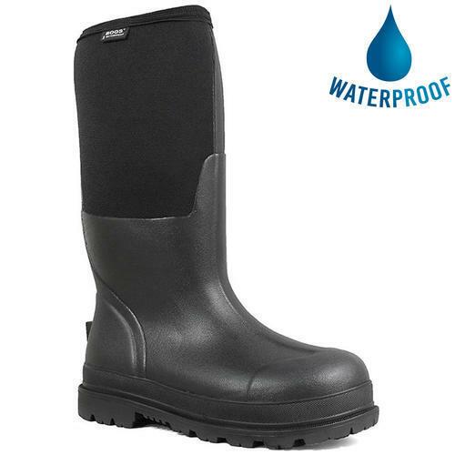 Bogs Rancher Mens Waterproof Wellington Boots Neoprene Wellies Size UK 7-13
