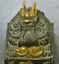 6-034-Old-Chinese-Palace-Bronze-Gilt-Beast-Dragon-Dynasty-Imperial-Seal-Stamp-Signet thumbnail 10