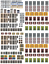 Windows-and-Doors-Combo-Pack-Scenery-Sheets-for-O-Scale-Model-Train-Layouts thumbnail 1