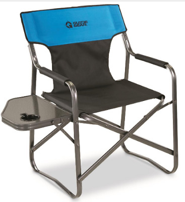 Heavy Duty Folding Chair Portable Camping Lounge Chair